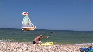 Про Катю На Азовском море Большие медузы Детское видео