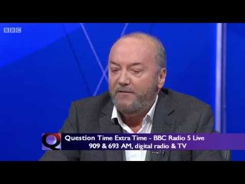 George Galloway MP ambushed on BBC Question Time