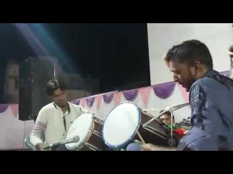 Jakir ustad and jawed ustad playing Dhol