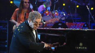 Elton John live 4K - Honky Cat (Elton 60 - Live at Madison Square Garden)   2007