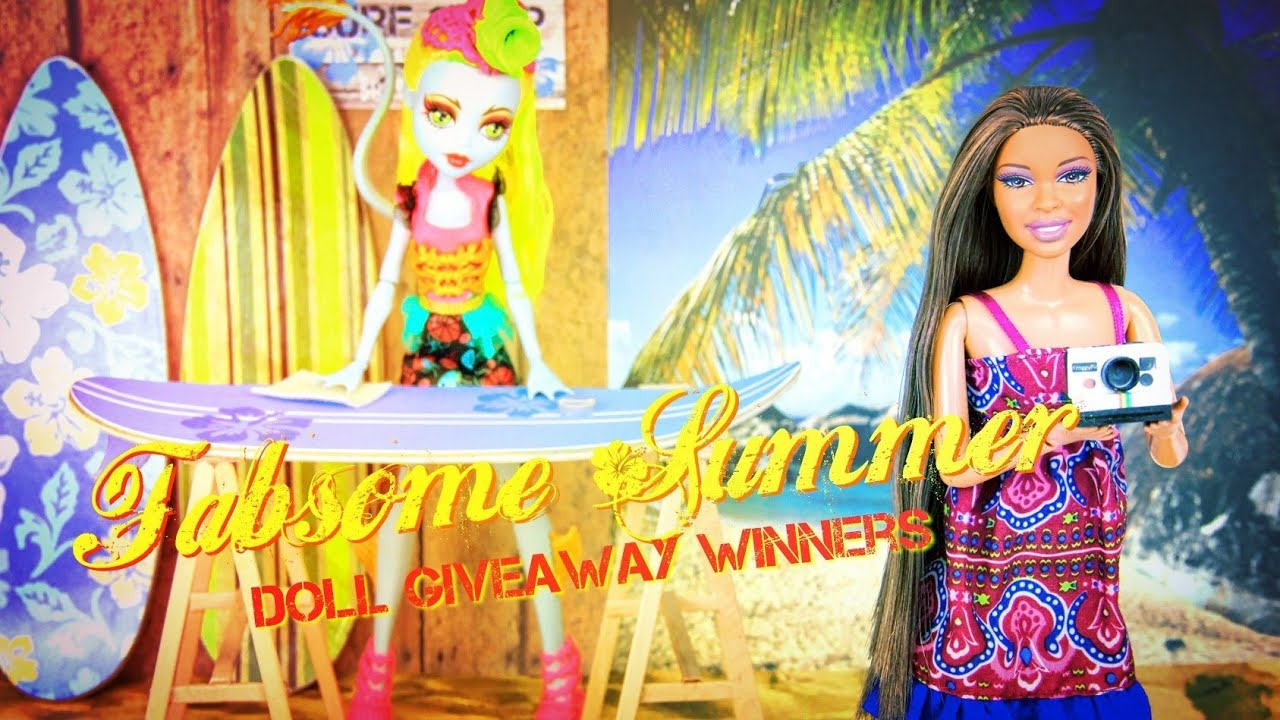 Fabsome doll giveaways
