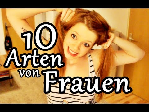 10 arten von frauen youtube. Black Bedroom Furniture Sets. Home Design Ideas