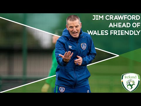 INTERVIEW | #IRLU21 Manager Jim Crawford speaks ahead of Wales