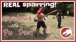 TRIDENT vs PUDAO! Full contact Kung Fu with Weapons!