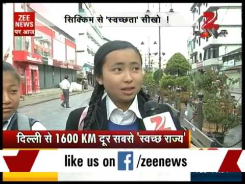 Sikkim‒India's first cleanliest state with 100 percent sanitation coverage!