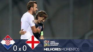 CROÁCIA 0 X 0 INGLATERRA - MELHORES MOMENTOS - UEFA NATIONS LEAGUE (12/10/2018)