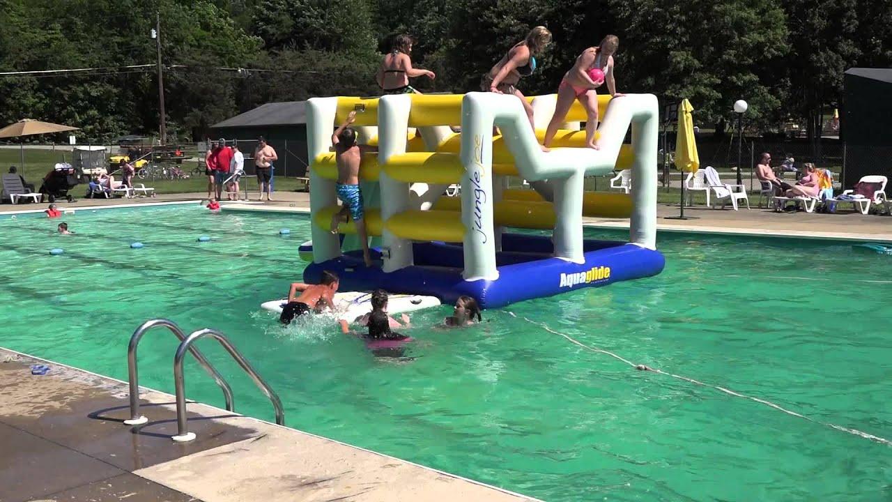 Swimming Pool Salem Lisbon Koa Youtube