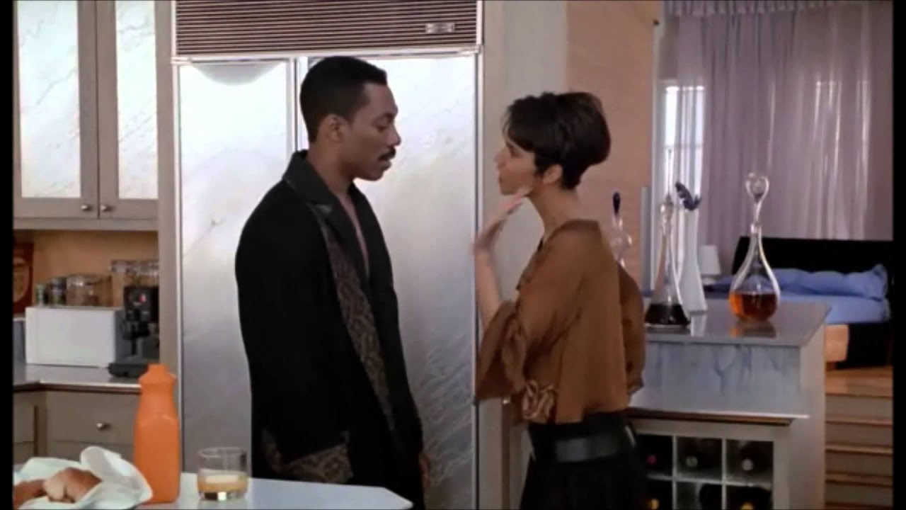 from Leon halle berry ass grab