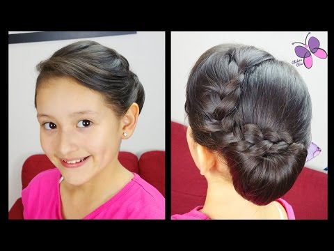 Elegant Side Chignon | Prom Hairstyles | Hairstyles for Short Hair