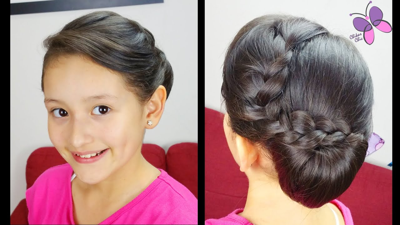 Elegant side hairstyles - Elegant Side Chignon Prom Hairstyles Hairstyles For Short Hair Youtube