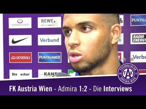 Austria - Admira 1:2 / Die Interviews