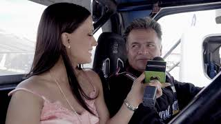Freightliner TV- Ana La Salvia en Nascar GDL