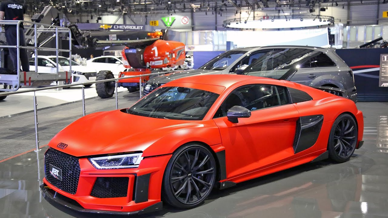 Audi R8 V10 Plus ABT - LOUD REVS - Sound Driving - YouTube