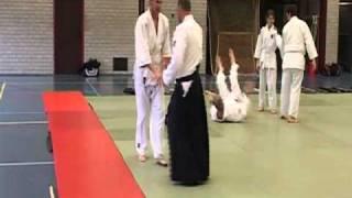 Aikido (Ken no Tebiki) - Aihanmi Omote Kokyunage