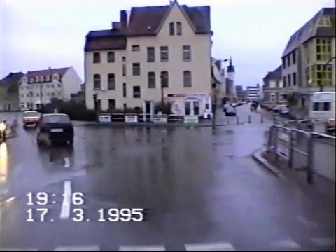 Furstenwalde 1995 Rauener Strasse Spree Brucke Wassergasse