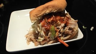 Awesome Pulled Pork Sandwich ~ Easy & Delicious ~ Ykywi Bbq Sauce