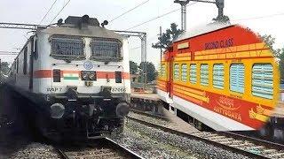INDIAN RAILWAYS: 22886 Tatanagar - Mumbai LTT Antyodaya Express Smashes Amgaon