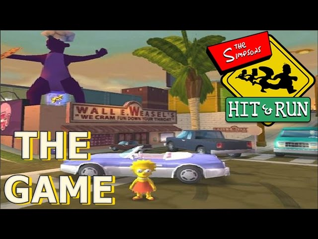 The Simpsons Hit e Run PC + Link Download Vídeos De Viagens