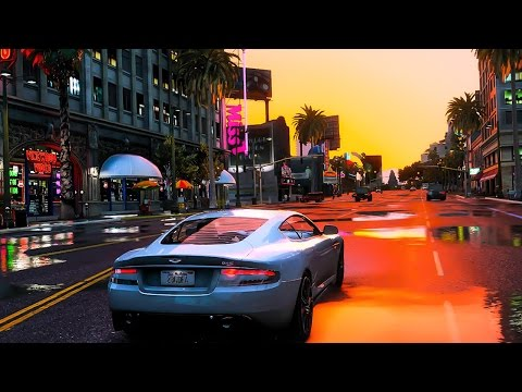 GTA 5 Photorealistic Graphics - ✪ NaturalVision 2.0 - Ultra Realistic Graphic MOD PC - 1080p 60 FPS