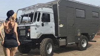 """Российская компания взяли старую """"Шишигу"""" и сделали из него элитный дом на колесах!"""