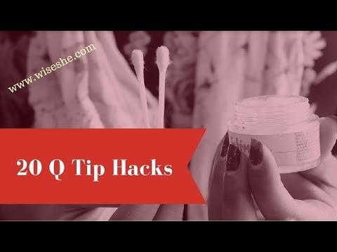 101 Amazing Q Tip Uses Cotton Swab Uses Ear Bud Hacks