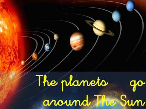 song the earth goes around the sun - YouTube