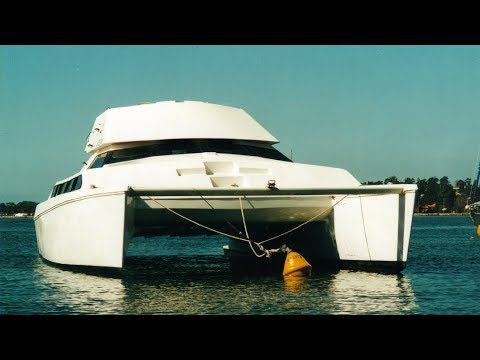 Our 40 foot Tasman Elite Catamaran | Liz Kreate