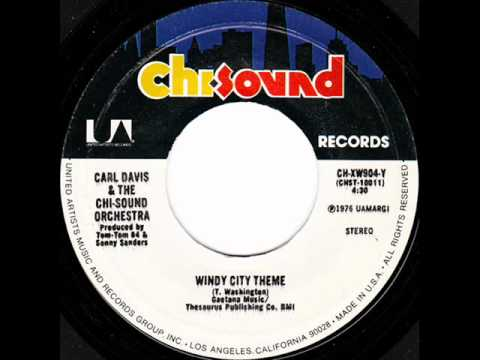 Carl Davis & The Windy City Orchestra - Windy City Theme (Rare)