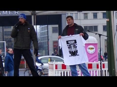Demonstration gegen grundgesetzwidrigen Rundfunkbeitrag (GEZ), 31.01.2015, Potsdamer Platz