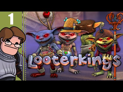 Let's Play Looterkings Co-op Part 1 - Cheese It [Early Access] - 동영상