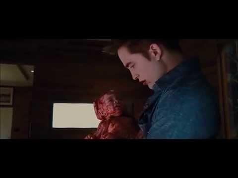 51. Amanecer 1 - Bella se pone de parto, nace Renesmee