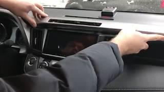 Видеоинструкция по установке магнитолы в Toyota Rav4 2012+ на примере Redpower 31017B