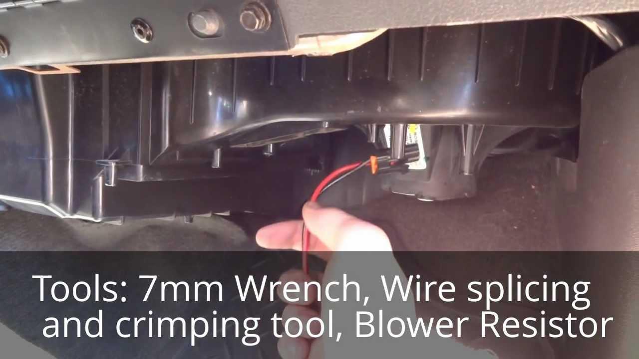 Blower Motor Wiring Harness Blower Motor Connector Repair Wiring