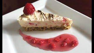 No Bake Raspberry Cheesecake