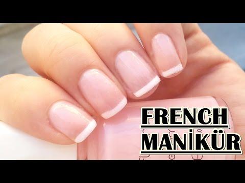 4 Farklı Yöntemle Fransız Manikürü Nasıl Yapılır?/French Manicure