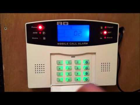 Alarmanlage GSM Installieren