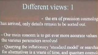 Cosmology (Public Lecture), George Ellis | Lecture 1 of 1