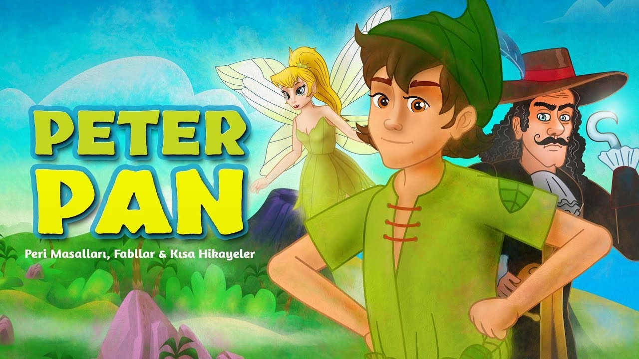 Peter Pan - Çizgi Film Masal