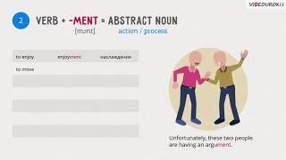 "Видеоурок по английскому языку ""Noun suffixes"""