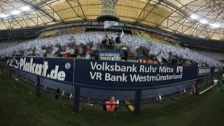 Nordkurve Gelsenkirchen: 360°-Video der EUROFIGHTER-Choreo