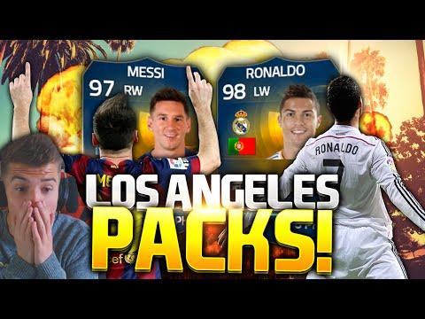 FIFA 15 'HUGE PACKS' LA HOTEL ROOM TOUR PACK OPENING