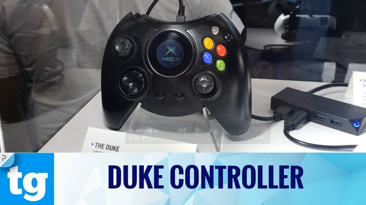 The Xbox One is getting the Xbox 1's Duke controller (and Windows 10 too)