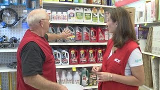 fix it friday ace hardware shows us how to unclog a drain
