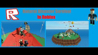 Roblox-WHY TORNADO WHY?!-Natural Disaster Survival