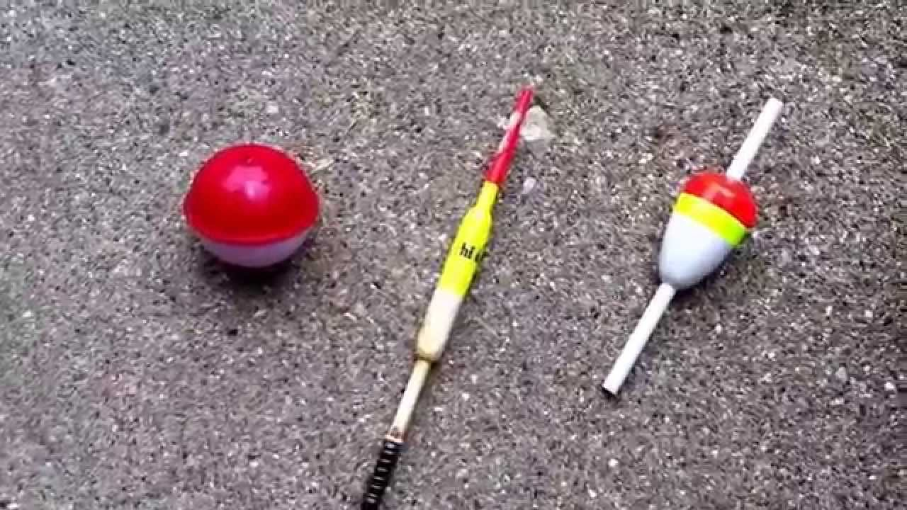 Explaining different types of bobbers and introducing some for Fishing floats types