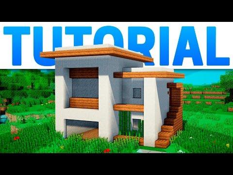 Tutorial como hacer facil casa de arbol en minecraft doovi for Casa moderna minecraft easy