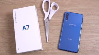 Samsung Galaxy A7 2018 Blue - Unboxing!