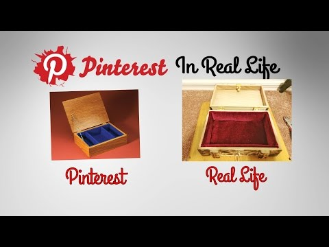 DIY Jewelry Box Interior - Pinterest in Real Life