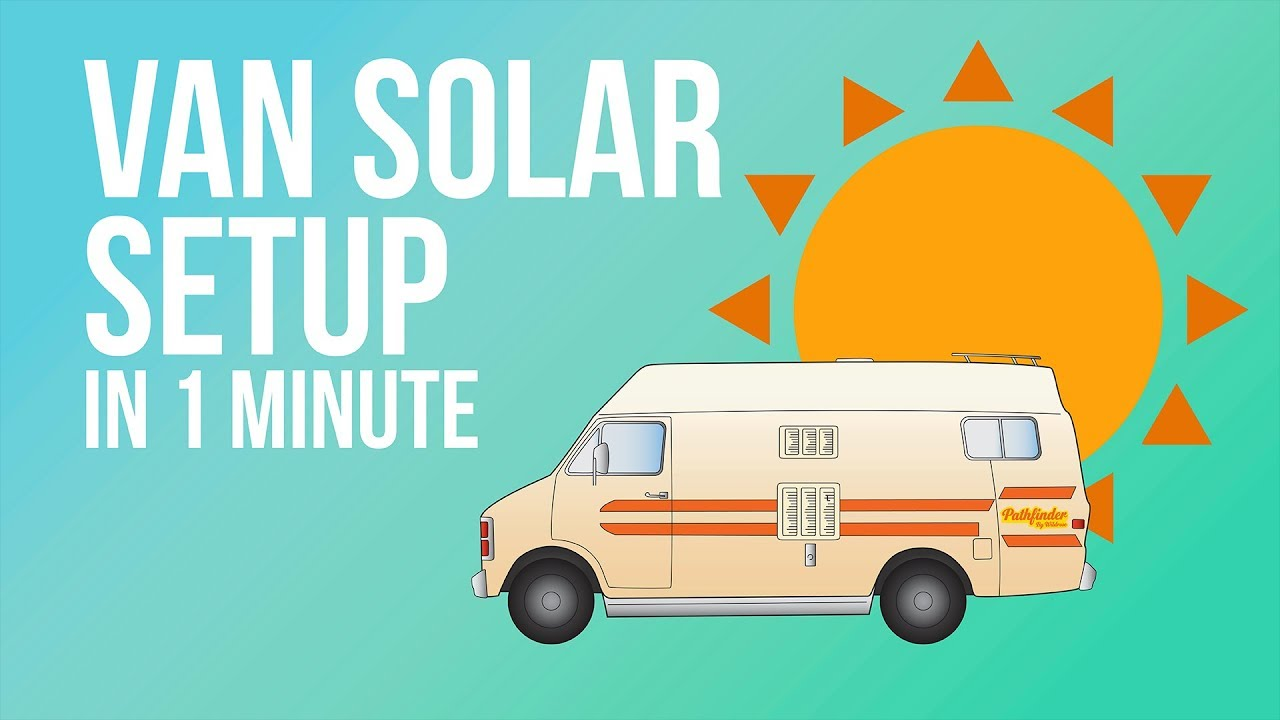 Complete Van Life Solar System for Under $1000
