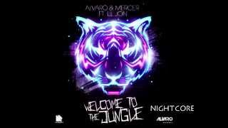 Alvaro Mercer Feat  lil jon - welcome to the jungle bitch (Nightcore)